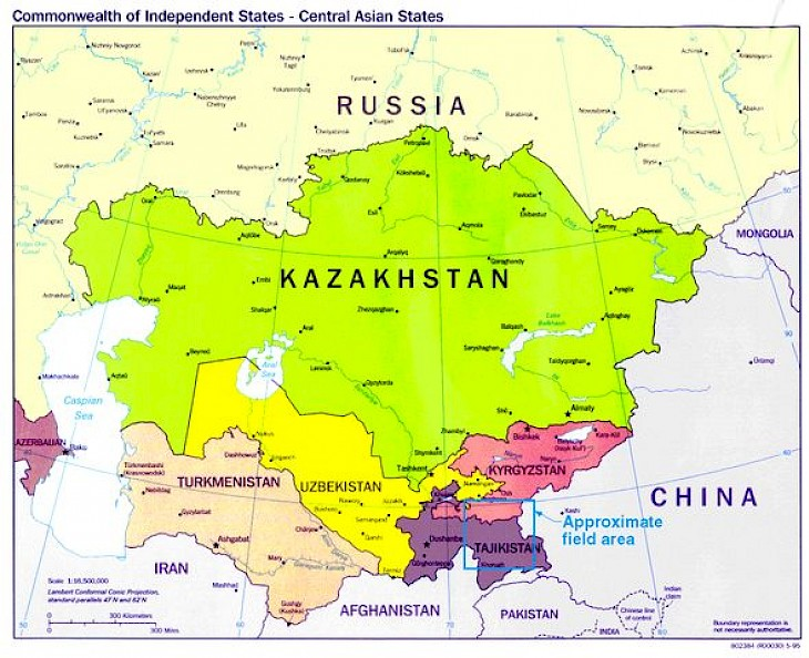 Central Asia Countries To Accelerate The Uptake Of Renewables - Central asia political map